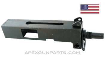 """Ingram M10 Upper Receiver Assembly, 5.75"""" Barrel, Early Style, 9x19, *Good*"""
