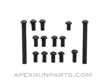 Fixed Stock Rivet Set for AKM Rifles, Russian Specification, *NEW*