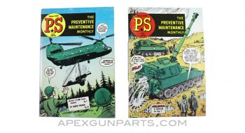 US Army technical bulletins 1974 PS The Preventive Maintenance Monthly #258, #259, *Very Good* condition