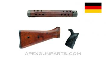 G3 / HK91 Wood Stock w/Handguard & Grip, No Recoil Spring Assembly, *Very Good*