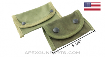 USGI Spare Parts & Tools Pouch, OD Canvas, *Very Good*