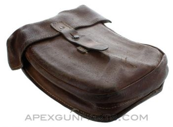 VZ-58 Four Magazine Divided Leather Pouch, 30rd, *Good*