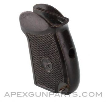Makarov Pistol Grip, Brown, Bulgarian, *Good*