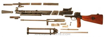 DPM Parts Kit with Torch Cut Receiver, Polish, 7.62x54R, *Very Good*