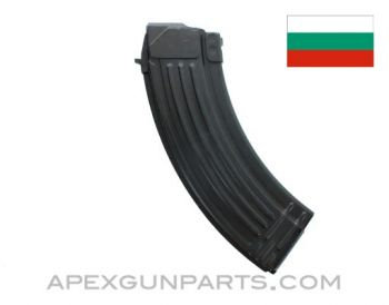 AK-47 Magazine, 30rd Steel, 7.62x39, Bulgarian, *Excellent*