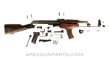 Romanian M63 AK-47 Part Set, 1964 Dated / Second Year Production, Non-Matched, *Good*