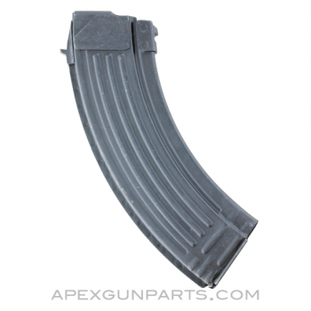 North Korean Type 58 / AK-47 Magazine, 30rd, Blued Steel, 7.62x39, *Very Good*