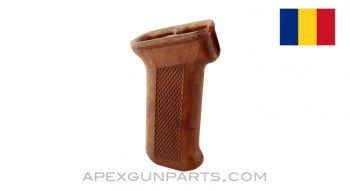 Romanian AKM Pistol Grip, Orange Plastic *Very Good*