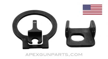 Trijicon MP5 Front and Rear Night Sights, *NEW*