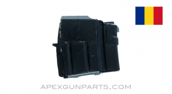 Romanian SAR-3 / WASR-3 Magazine, 5rd, Double Stack, Blued Steel, Refinished, 5.56x45, *Good*