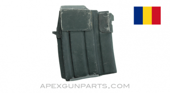 AK WASR-3 & SAR-3 Magazine, 10rd Steel, Romanian, Double Stack, 5.56X45 / .223, *Very Good*