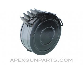 Chinese RPD Drum Magazine with 100rd Belt, *Very Good*