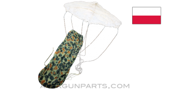 Polish Air Drop Parachute, Special Operations FROG Pattern, *Very Good*