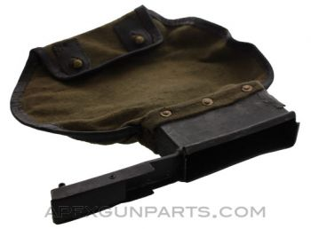 MG 42 / M53 Brass Catcher Bag, Canvas, *Fair*