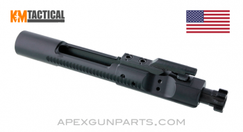 KM Tactical AR-15 / M-16 Bolt Carrier Group, Nitrided, 5.56 / .223 / .300 Blackout, *NEW*