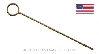 "Thompson SMG Cleaning Rod, .45 ACP, 16"" Length, Brass, *Good*"