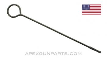 "Thompson SMG Cleaning Rod, .45 ACP, 16"" Length, Steel, *Good*"