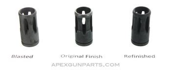 Galil AR/ ARM/ SAR Birdcage Flash Hider, Type 1 w/Short Recessed Cut, .223/5.56mm, Multiple Finish Options Available