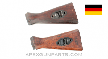 G3 / HK91 Buttstock, Wood, Stripped of all Metal, *Good*