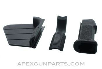 Featureless AR-15 Pistol Grip w/Changeable Fin & Backstrap, CA Compliant, *NEW*