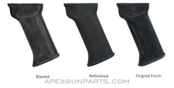 Galil AR / ARM / SAR Pistol Grip, Black Plastic, Multiple Finish Options Available