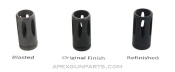 Galil AR / ARM / SAR Birdcage Flash Hider, Type 2, .223/5.56mm, Multiple Finish Options Available