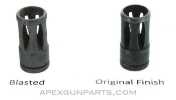 Galil AR / ARM / SAR Birdcage Flash Hider, Type 3 w/Long Recessed Cut, .223/5.56mm, Multiple Finish Options Available
