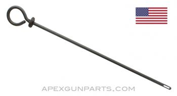 "Thompson SMG Cleaning Rod, .45 ACP, 15"" Length, Type 2, Steel, *Good*"