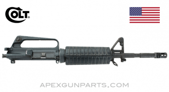 "Colt M16A1 Carbine Upper Receiver Assembly, 14.5"" Barrel, Full-Auto, 5.56X45 NATO, *Good*"