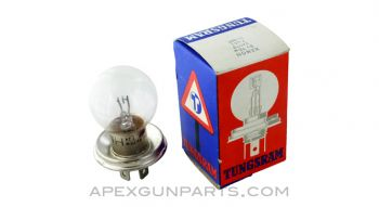 Optics XENON Light Bulb, 3-Prong Base, *NOS*