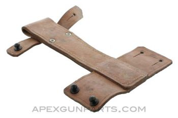 Romanian AK-47 Leather Frog for Bayonet with a Scabbard
