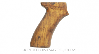 AKM Pistol Grip, Wood, Handmade, *Good*