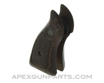 "Smith & Wesson ""K & L"" Frame Wood Grips, *Good*"