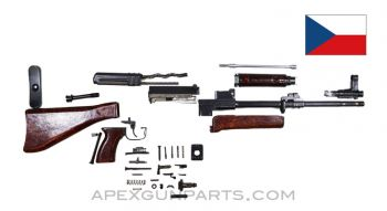 "Czech VZ-58 Fixed Stock Parts Kit ,15.5"" Barrel, Factory Finish, 7.62x39, *Very Good*"