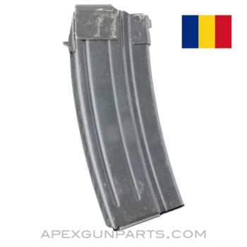 AK  WASR-3 / SAR-3 Magazine, 30rd Steel, Romanian, 5.56 NATO / .223, *Very Good*
