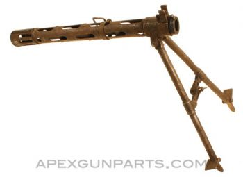 Madsen 46 Barrel Shroud with Bipod, *Good*