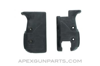 UC9 UZI Pistol Grip Panel Set (Left & Right), Black, US Made, *NEW*