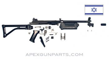 Galil ARM Parts Kit with Polymer Handguard, IMI Israel, .223 / 5.56x45 NATO, *Very Good*