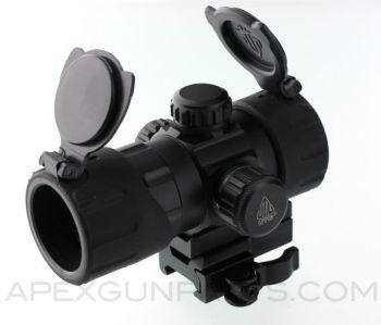 UTG Red/Green Dot Scope, Medium Profile,  NEW