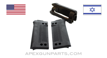 Galil ARM Handguard Repair Set, Black Polymer Panels with Bipod Clearance, 922(r) Compliant