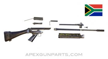 "South African FAL 21"" Barrel, Lower w/Polymer Furniture, Bolt & Carrier, 7.62X51 NATO, *Good*"