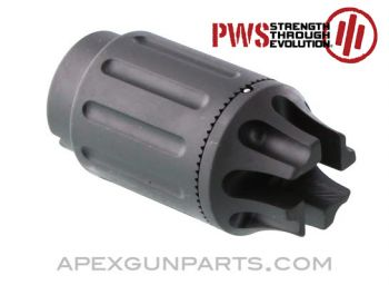 PWS CQB74 Compensator, 24x1.5mm RH Threaded, 5.45/ 7.62mm, US Made, *NEW*