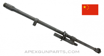 "Chinese M1A / M14S Standard Weight Barrel Assembly, 22"", Chrome Lined, Parkerized, 7.62x51, *Good*"