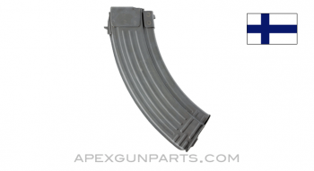 Finnish RK62 AK-47 Magazine, 30rd, Steel, 7.62x39, Refinished, *Very Good*