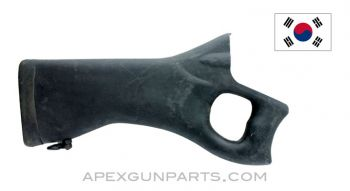 Daewoo DR 200 / 300 Thumbhole Stock, Black Polymer *Very Good*