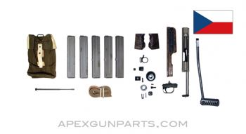 Czech SA. 26 Support Package, 5 32rd Magazines, Accessories and a Set of Spare parts, 7.62X25