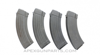 Mixed European AK-47 Magazines, 30rd, Steel, 7.62x39, *Good*