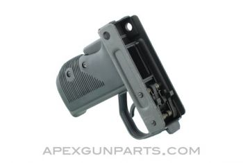 UC9 UZI Semi-Auto Modified Fire Control Grip Assembly, Complete, Re-Parkerized, *Very Good+*