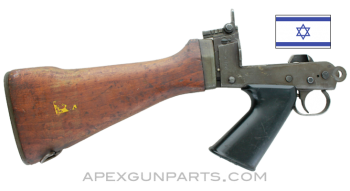 Israeli FAL Buttstock Assembly, Complete, Early Style, *Very Good*