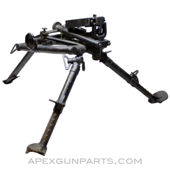 ZB-37 Tripod With Pintle Adapter Plate, Black Painted, Eastern Arabic Markings, *Good*